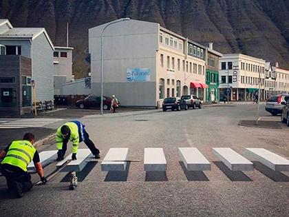 Paso de peatones 3D - Ecodriver